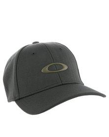 Oakley Silicon Oakley Cap Grey