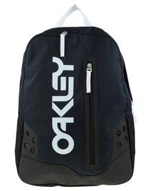 Oakley Front Zip Detail Backpack Navy