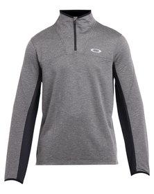 Oakley Performance Press Fleece Top Grey