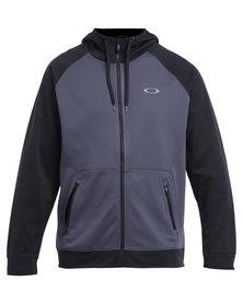 Oakley Performance Movement Fleece Hoodie Grey