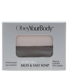 ObeyYourBody Dead Sea Mud And Salt Bar 100G