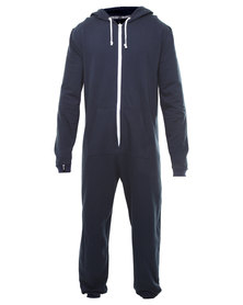 Onesie Superior Brushed Fabrication Onesie Navy