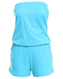 Onesie Boobtube Turquoise
