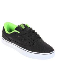 Osiris Caswell VLC Sneaker Black Lime