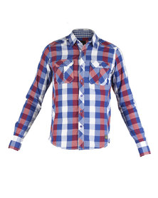 Outfitters Nation Louis Check Shirt Red