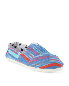 Paez Indie Slip On Shoes Blue