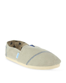 Paez Happy Classic's Slip On Shoes Beige