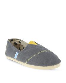 Paez Happy Classic's Slip On Shoes Grey