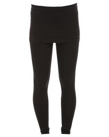 Paige Smith Skirt Legging Black