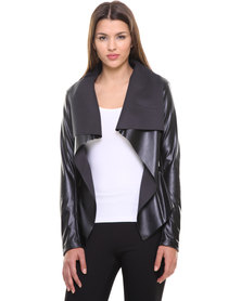 Paige Smith Waterfall Jacket Black