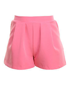 Paige Smith Scuba Shorts Pink