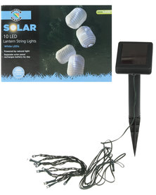 Pamper Hamper Solar LED Lantern Lights