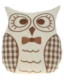 Pamper Hamper Owl Doorstop Beige