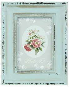Pamper Hamper Distressed Vintage Photo Frame Mint