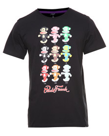 Paul Frank Series Tee Black