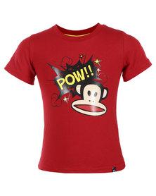 Paul Frank Pop Art T-Shirt Cherry Red