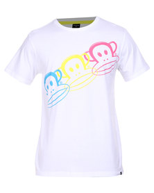 Paul Frank Three SS With Neon White