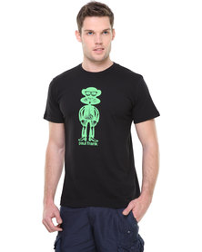 Paul Frank Neon X-Ray Tee Black