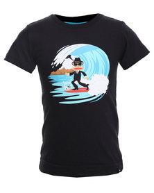 Paul Frank Surfing Skaman Tee Black