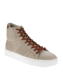 Paul of London Pin-Punched Sneakers Beige