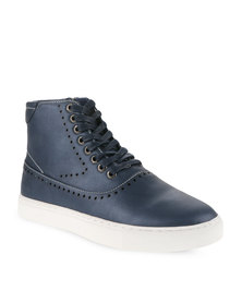 Paul of London Street Style Sneakers Navy