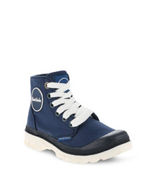 Paul of London Lace-up Boots Blue