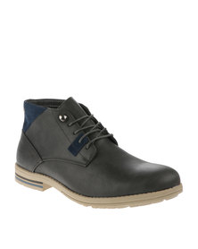 Paul of London Worker Boots Grey
