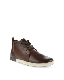 Paul of London Lace-up Sneakers Brown