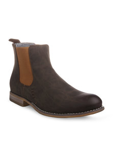 Paul of London Ankle Boots Brown