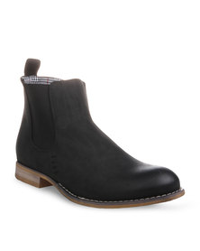 Paul of London Ankle Boots Black