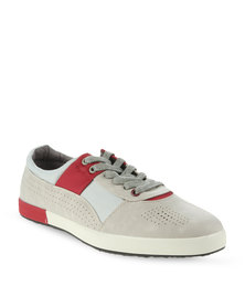 Paul of London Contrast Perforated Casual Shoes Multi-Colour