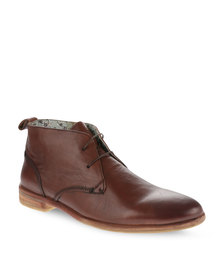 Paulo Vandini Player Leather Shoes Brown
