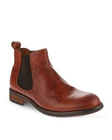 Paulo Vandini Provider Leather Boots Tan