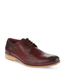 Paulo Vandini Limehouse Leather Shoes Wine
