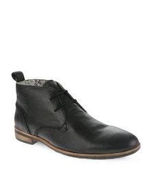 Paulo Vandini Player Leather Shoes Black