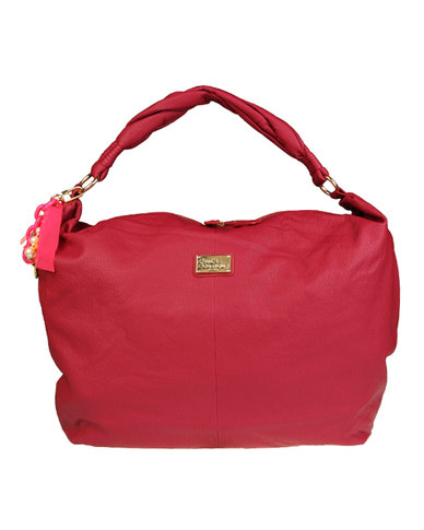 Paul's Boutique Agnes Handbag Raspberry