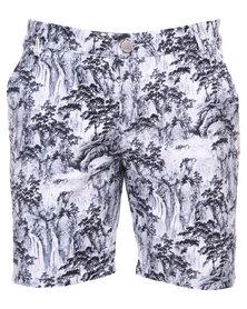 Peg Boomerang Basic Shorts Grey