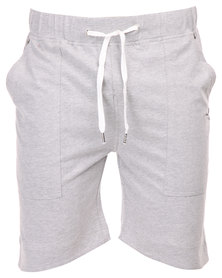 Peg Liberty Knit Shorts Grey