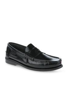 Pierre Cardin Leather Loafer Shoe Black