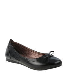 Pierre Cardin Flat Comfort Pumps Black