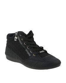 Pierre Cardin Casual Short Boots Sneakers Black