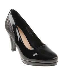 Pierre Cardin Court Platform Black