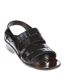 Pierre Cardin Sandals Black