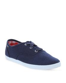 Pierre Cardin Denim Sneakers Navy