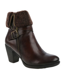 Pierre Cardin Ankle Boot Brown