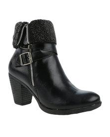 Pierre Cardin Ankle Boot Black
