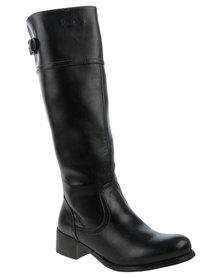Pierre Cardin Riding Boots Black