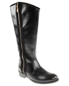 Pierre Cardin Long Boot Black
