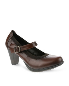 Pierre Cardin Mid Heels Brown