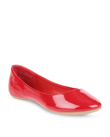 Pierre Cardin Ballet Pumps Red